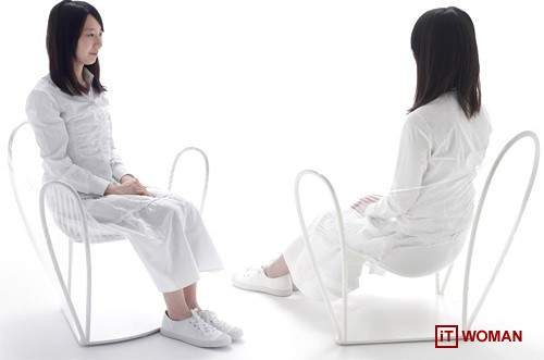 Прозрачный стул от  Nendo