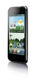 Стильный тонкий и легкий Android-смартфон LG Optimus Black