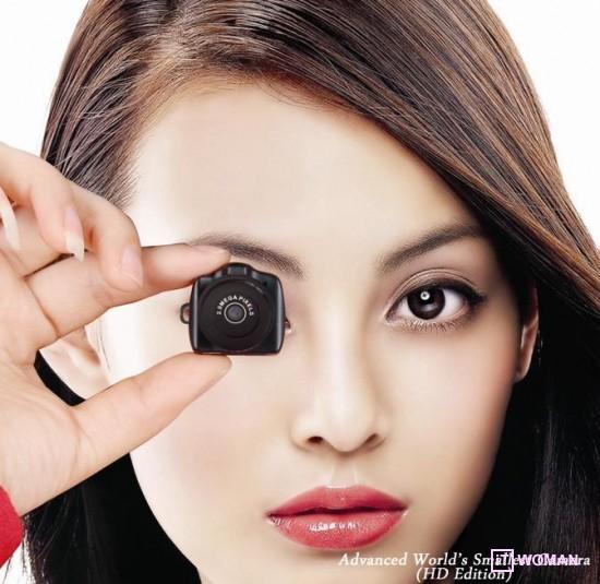 Самая маленькая фото-видео камера