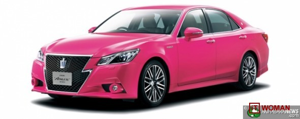 Внимание, акция! Продается Toyota в розовом цвете!