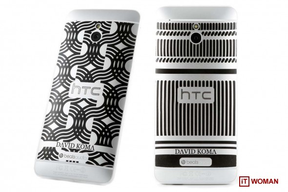 HTC One Mini - гламурный дизайнерский смартфон