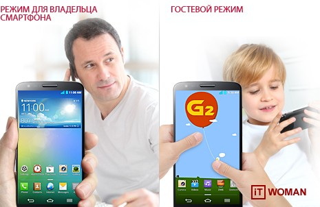Гостевой режим на LG G2
