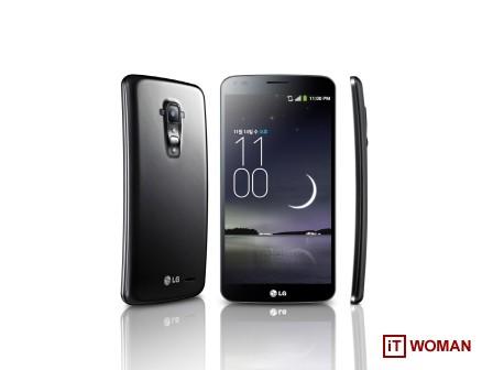 Изогнутый смартфон LG G Flex: старт продаж в Украине