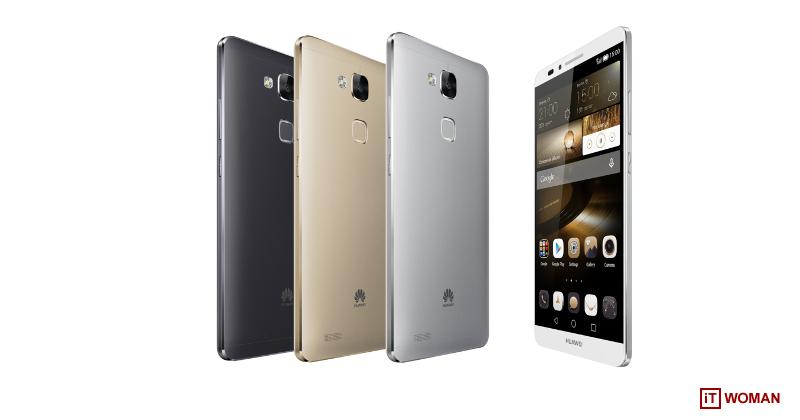 Huawei удивил флагманским смартфоном Mate7