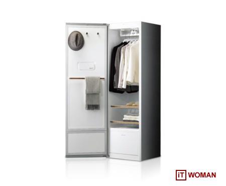 LG представит систему ухода за одеждой LG Styler