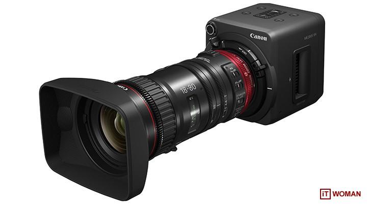 Снимай кино и новостные сюжеты с камерой Canon ME200S-SH