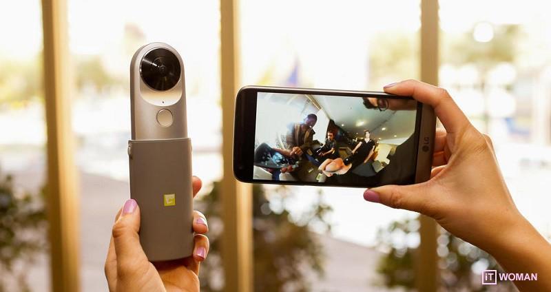 Как снимать фото и видео в формате виртуальной реальности?