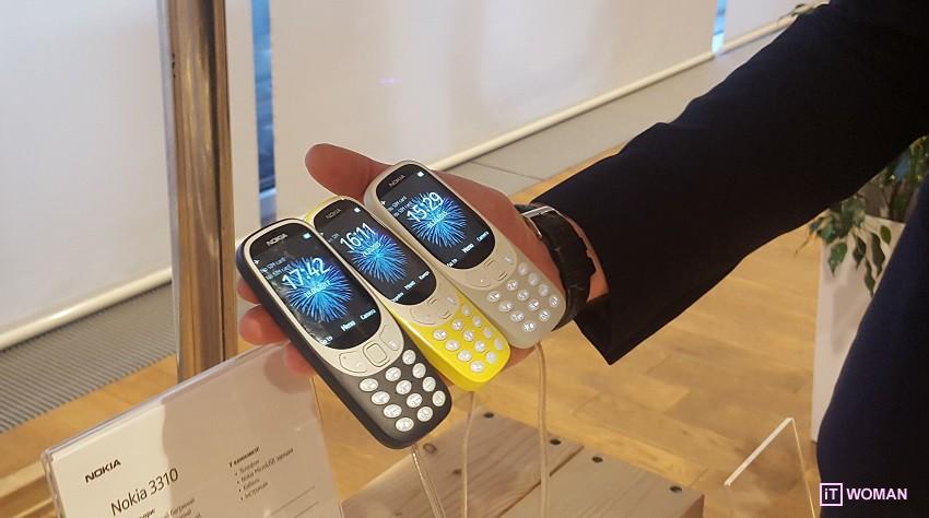 Nokia 3310: новое - это хорошо забытое старое!