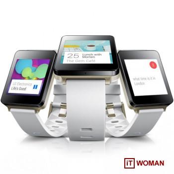 LG представила первое носимое устройство на Android Wear