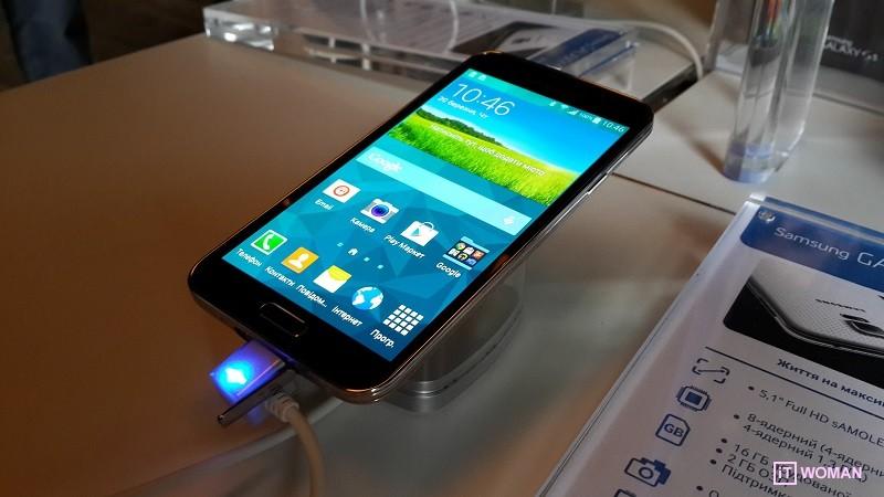 Samsung GALAXY S5 уже в Украине!