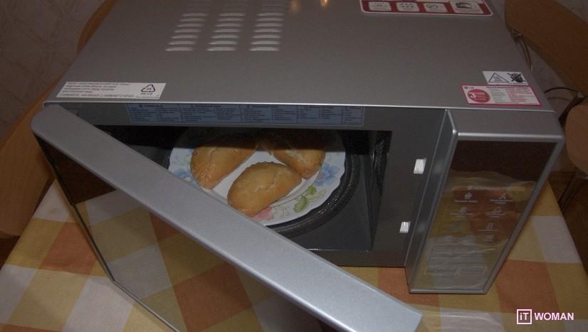 Микроволновая печь LG: готовим с любовью!