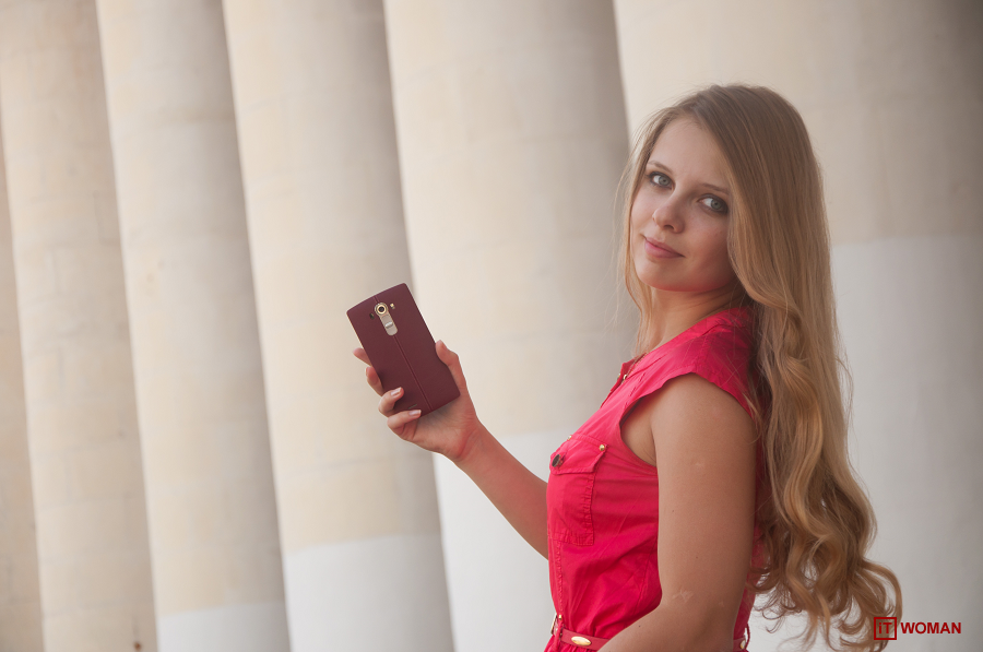 ФОТОПРОЕКТ LADY IN RED - LG G4