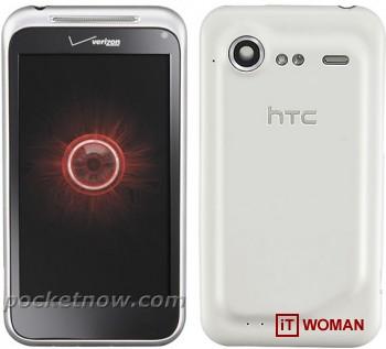 Смартфон HTC Incredible теперь в серебряном цвете