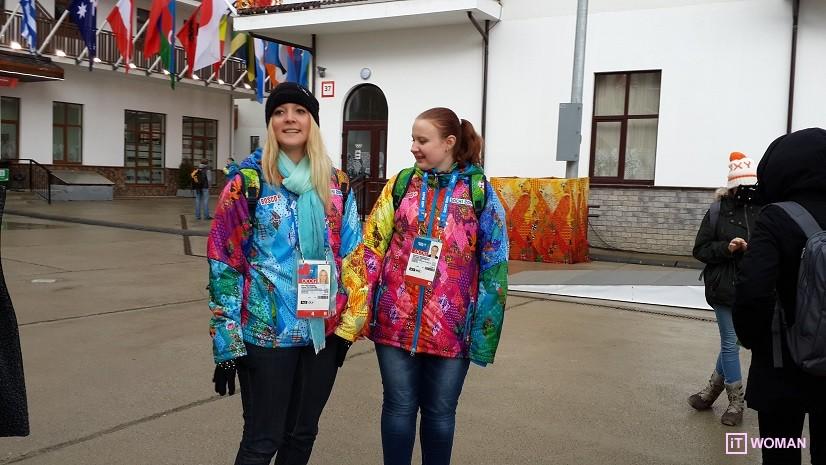 Украинская спортсменка Аннамари Чундак провела экскурсию по Олимпийской Деревне