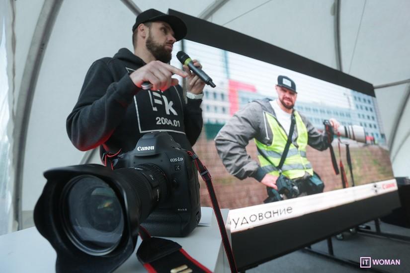 Canon провел мастер-класс по спортивной фотографии