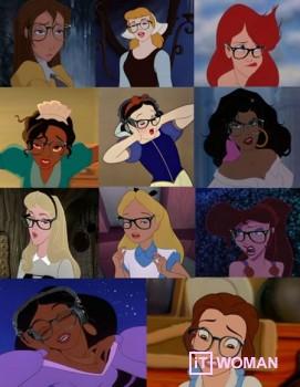 О чем писали бы в блогах Диснеевские принцессы?