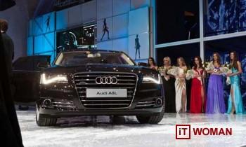 Презентация новой модели Audi A8 Long в Украине