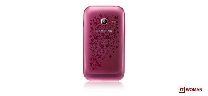 Samsung представил весеннюю коллекцию смартфонов La Fleur 2013 года
