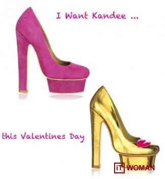 Яркая коллекция обуви от Kandees ко Дню Святого Валентина