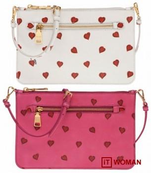 Коллекция сумочек от Prada ко Дню Влюбленных