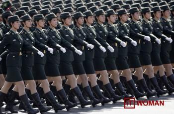 Женщины-солдаты в КНР. Опасно...