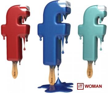 Уникальное мороженое от Facebook