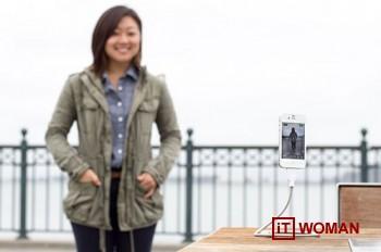 Штатив для смартфона и зарядное устройство - два в одном