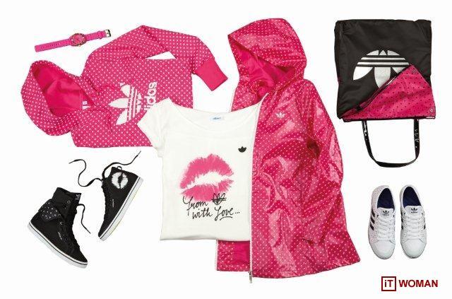 Женская коллекция adidas Originals: цветочные принты и романтические мотивы