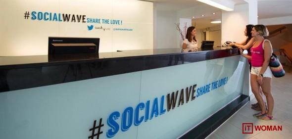 Первый Twitter отель открыт в Испании