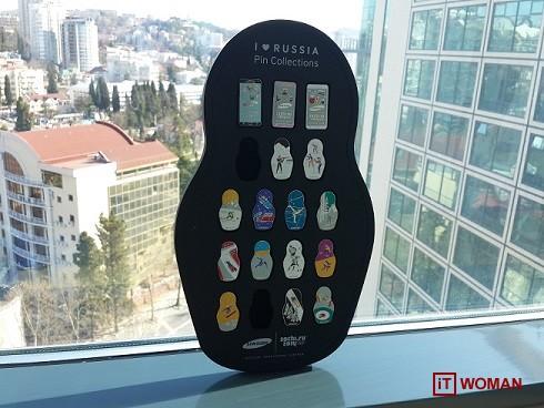 Олимпийские значки от Samsung вызвали огромный ажиотаж в Сочи
