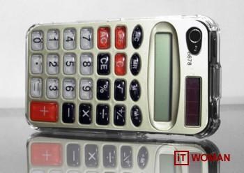 Чехол для iPhone в виде калькулятора - сдай экзамены на 5!