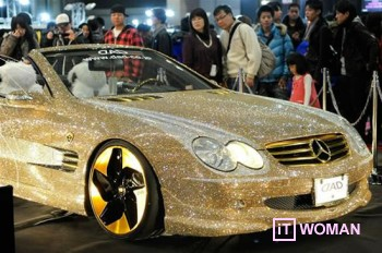 Mercedes-Benz SL600 в кристаллах Swarovski