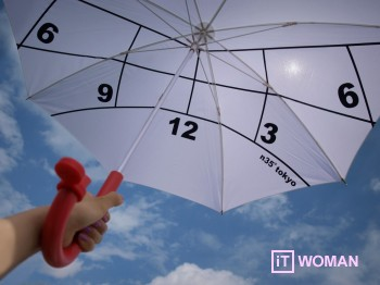 Часы-зонтик от Кота Nezu