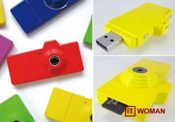 Флешка-камера