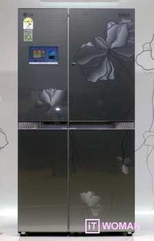 Samsung и LG представили холодильники с сенсорными экранами и Wi-Fi