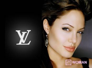 Анжелина Джоли станет лицом Louis Vuitton