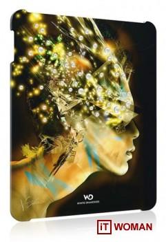 Футуристический чехол для iPad с кристаллами Swarovski