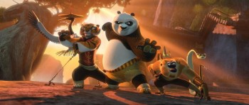 "HP и DreamWorks Animation представляют мультфильм ""Кунг-Фу Панда 2"""