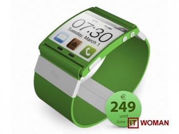 Наручные часы, работающие на Android