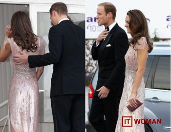 Принц Уильям и Кэтрин Миддлтон приняли участие в благотворительном ужине