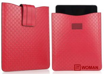 Кожаный чехол для iPad от Gucci