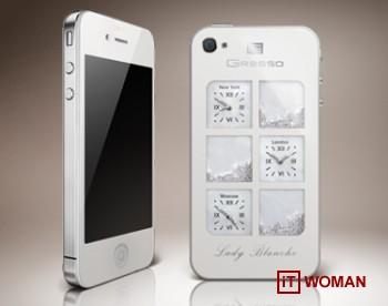 iPhone 4 Lady Blanche способен удивить женщину!