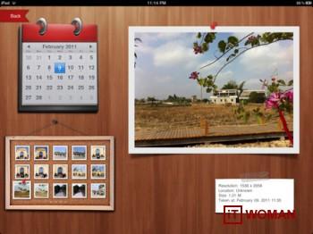 Приложение для управления фотографиями на iPad