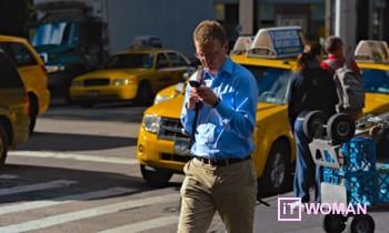 В Филадельфии запрещено писать смс при ходьбе