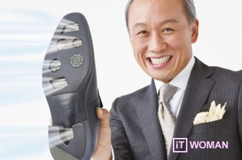 Обувь с технологией кондиционера!