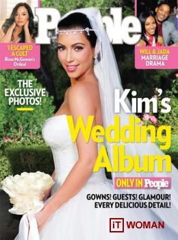 Ким Кардашьян заработала на своей свадьбе миллионы долларов!