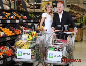 Британские супермаркеты установят IPad на тележки для спортивных болельщиков