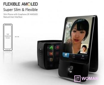 Samsung выпустит телефоны с гибкими и прочными экранами