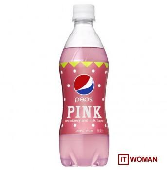 Pepsi в розовых бутылочках появятся скоро в Японии!