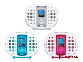 Водонепроницаемый плеер Sony Walkman для душа